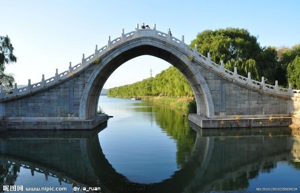 手工制作圆桥
